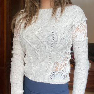 Lace Sweater | Hollister
